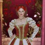Vestido estilo renascentista - close