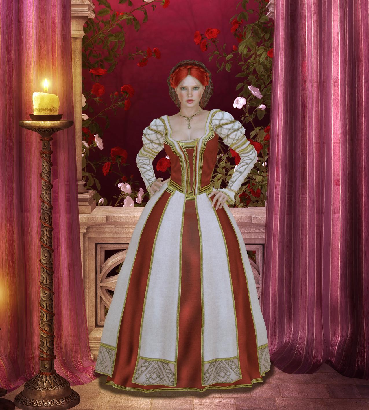 Vestido estilo Renascentista