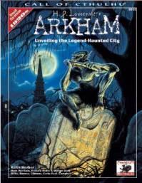 Suplemento Arkahn da Chaosin referente ao RPG Cthulhu