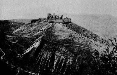 Um dos castelos em que a condessa teria vivido