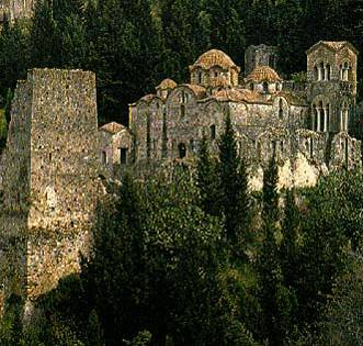Igreja da Hodigitria - Mistra - Grécia