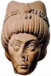 Escultura representando a Imperatriz Teodora