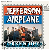 capa do disco Jefferson Airplane Takes Off
