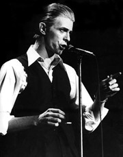 Bowie em foto de 1976