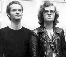 Florian e Ralf no início dos anos 70