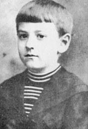Lovecraft aos 9 anos de idade