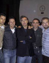 Morrissey e banda no programa de Janice Long