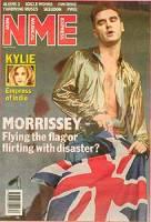 capa da polêmica matéria feita pelo NME