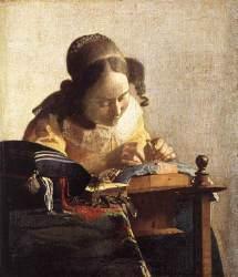 A rendeira de Vermeer
