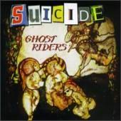 capa do relançamento de Ghost Riders, em 1996, em CD