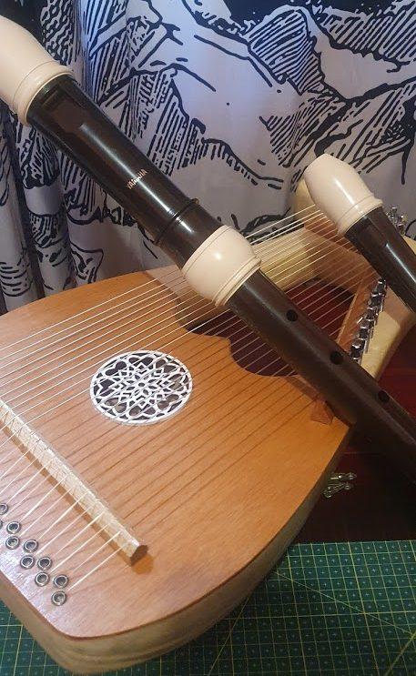 Lira e flautas