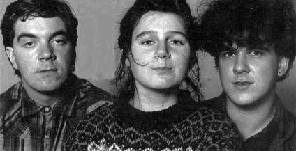 Will, Liz e Robin antes do primeiro disco