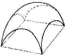 Abóbada semiesférica