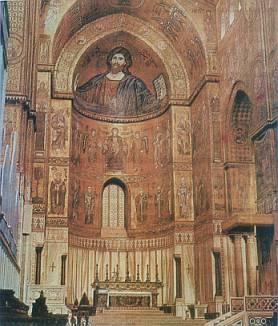 Interior da Igreja de Monreale