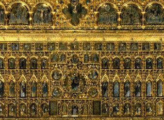 Pá de ouro - Basílica de São Marcos - Veneza