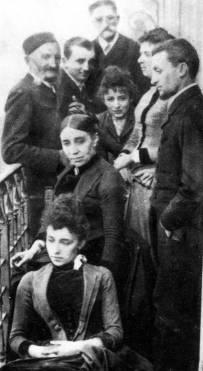 Camille Claudel e sua família