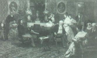 Chopin no palácio do príncipe Radziwill