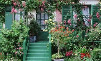 Casa de Claude Monet em Giverny. Atualmente funciona como um museu.