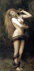 Lilith ,John Collier , 1887.