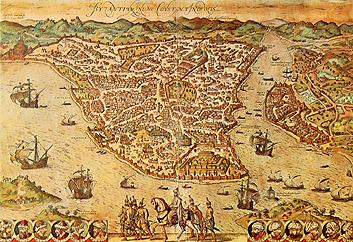 Constantinopla - Mapa