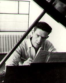 John Cage e seu piano