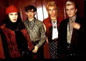 Ian, Jamie, Nigel e Billy
