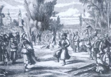 Dança folclórica russa
