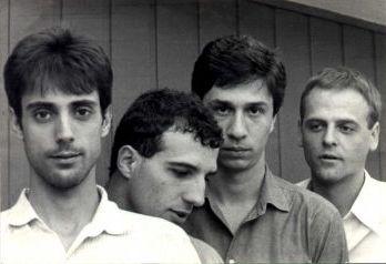 Fellini em 1984: Jair, Cadão, Ricardo e Thomas
