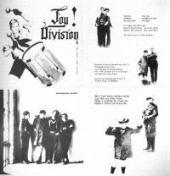 capa do EP An Ideal for Living mostrando a capa e todo o encarte, desenhado por Stephen Morris