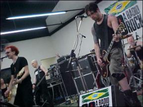 The Mission tocando no Brasil em 2000