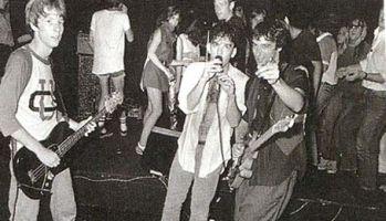 a banda na Carolina do Note, em 1980