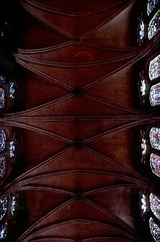 Teto da Nave da Catedral de Chartres